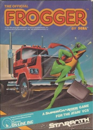 THE OFFICIAL FROGGER [USA] image