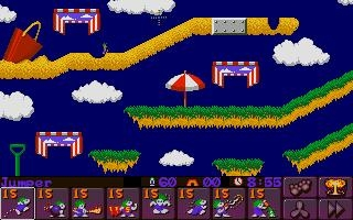 LEMMINGS 2 : THE TRIBES [ST] image