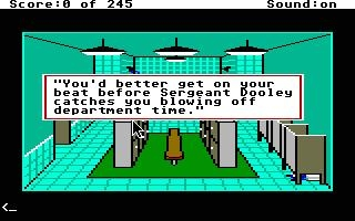 POLICE QUEST : IN PURSUIT OF THE DEATH ANGEL [ST] image