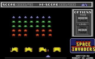 SPACE INVADERS [ST] image