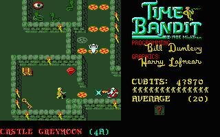 TIME BANDIT [ST] - Atari ST () rom download | WoWroms com