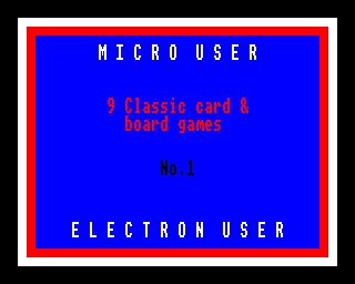 9 Classic Card and Board Games - No. 1 [SSD] image