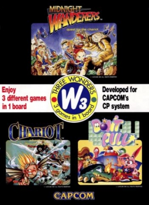THREE WONDERS - Capcom Play System 1 (CPS1) rom download