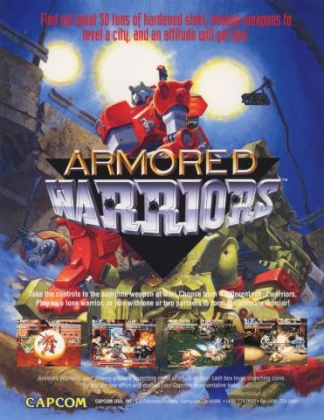 ARMORED WARRIORS [EUROPE] (CLONE) image