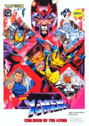 X-MEN: CHILDREN OF THE ATOM [JAPAN] (CLONE) image