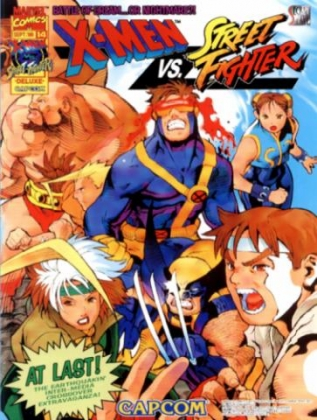 Defeating Apocalypse X Men Vs Street Fighter Mame4droid Full Android Gameplay Youtube