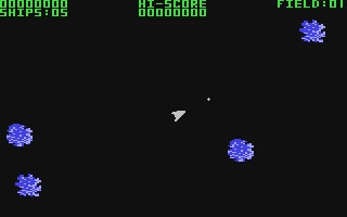 Asteroids 64 - Commodore 64 (C64) rom download | WoWroms com