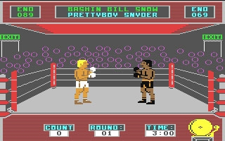 Barry McGuigan World Championship Boxing - Commodore 64 (C64