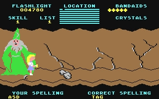 Cave of the Word Wizard - Commodore 64 (C64) rom download