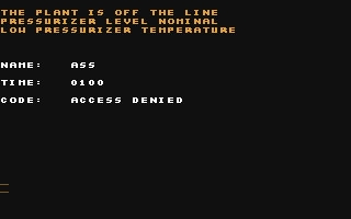 Chernobyl - Commodore 64 (C64) rom download   WoWroms com