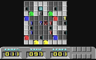 Chip's Challenge - Commodore 64 (C64) rom download   WoWroms com