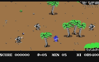 Commando - Commodore 64 (C64) rom download | WoWroms com