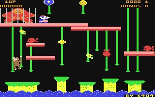 Donkey Kong Jr  - Commodore 64 (C64) rom download | WoWroms com