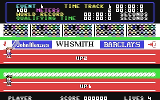 Daley Thompson's Decathlon - Commodore 64 (C64) rom download