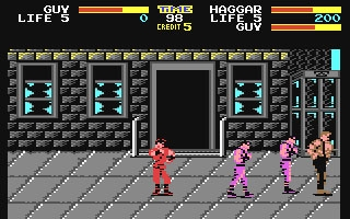 Final Fight - Commodore 64 (C64) rom download   WoWroms com