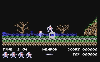Ghosts'n Goblins - Commodore 64 (C64) rom download | WoWroms com