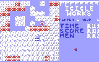 Icicle Works - Commodore 64 (C64) rom download   WoWroms com