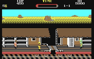 Iron Horse - Commodore 64 (C64) rom download | WoWroms com