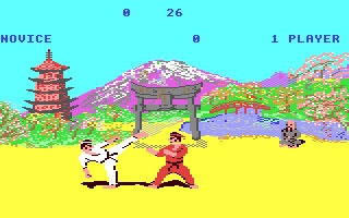 Kung-Fu - The Way of the Exploding Fist - Commodore 64 (C64