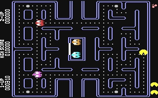Pacman - Commodore 64 (C64) rom download | WoWroms com
