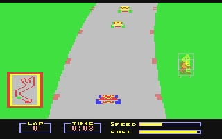 Pitstop - Commodore 64 (C64) rom download | WoWroms com