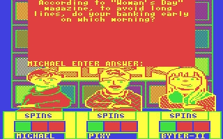 Press Your Luck - Commodore 64 (C64) rom download | WoWroms com