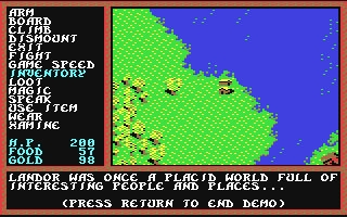 Questron II - Commodore 64 (C64) rom download   WoWroms com
