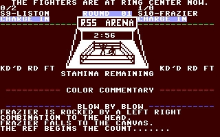 Ringside Seat - Commodore 64 (C64) rom download   WoWroms com