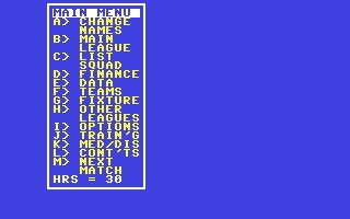 Treble Champions - Commodore 64 (C64) rom download | WoWroms com