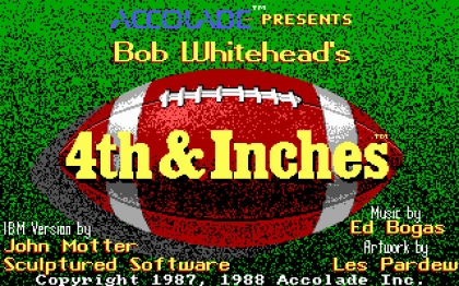 4th & Inches (1988) image