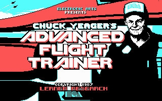 Chuck Yeager's Advanced Flight Trainer (1987) image