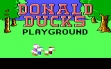 Logo Emulateurs Donal Duck's Playground (1986)