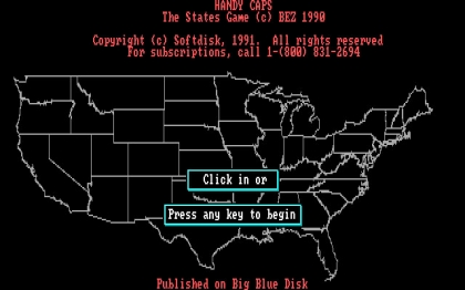 Handy Caps (1991) - DOS (Ms-Dos) rom download | WoWroms com