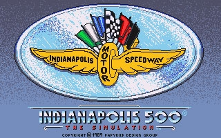 Indianapolis 500 The Simulation (1989) image