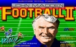 logo Emulators John Madden Football II (1991)