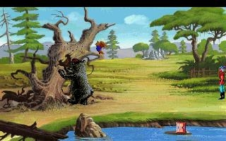 KING'S QUEST 5 - ABSENCE MAKES THE HEART GO YONDER - DOS (Ms