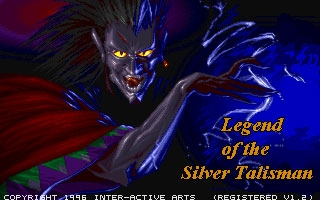 Legend of the Silver Talisman (1996) image