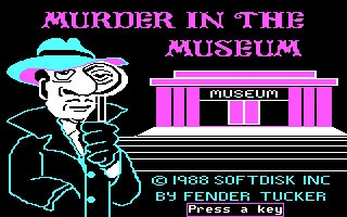 MURDER IN THE MUSEUM image