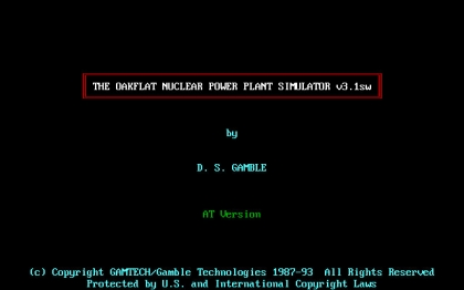Oakflat Nuclear Power Plant Simulator, The (1992) image