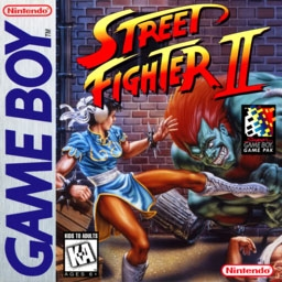 Street Fighter II (Japan) (SGB Enhanced) image