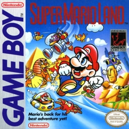 Super Mario Land (World) - Nintendo Gameboy (GB) rom download
