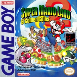 Super Mario Land 2 6 Tsu No Kinka Japan Nintendo Gameboy Gb Rom Download Wowroms Com