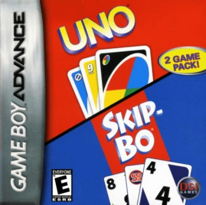 2 Game Pack! : Uno & Skip-Bo [Europe] image