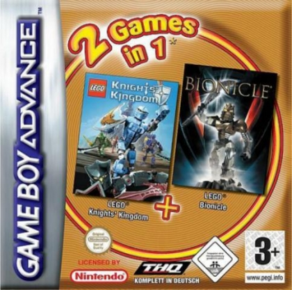 2 Games in 1 : Bionicle + Knights' Kingdom [Europe] image