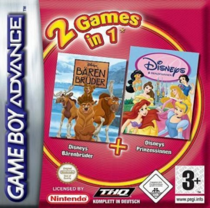 2 Games in 1 : Disney Princess + Brother Bear [Europe] image