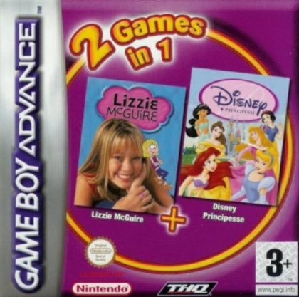 2 Games in 1 : Disney Princess + Lizzie McGuire [Europe] image
