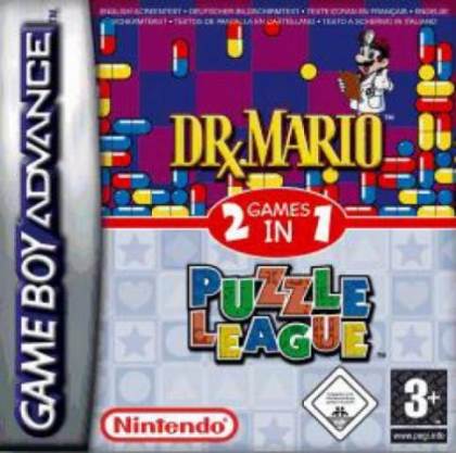 2 Games in 1 : Dr. Mario + Puzzle League [Europe] image