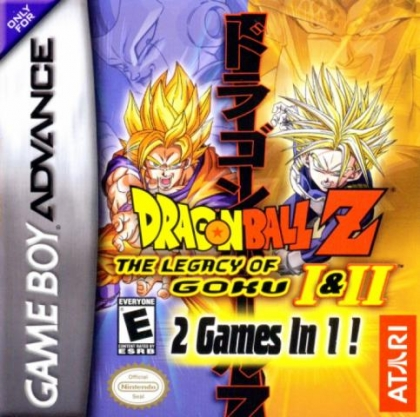 2 Games in 1 : Dragon Ball Z, The Legacy of Goku I & II [USA] image
