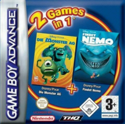 2 Games in 1 : Finding Nemo + The Incredibles [Europe] image