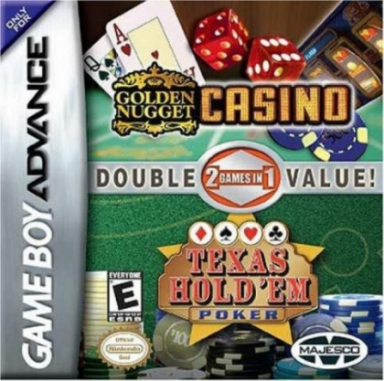 2 Games in 1 : Golden Nugget Casino + Texas Hold 'em Poker [USA] image